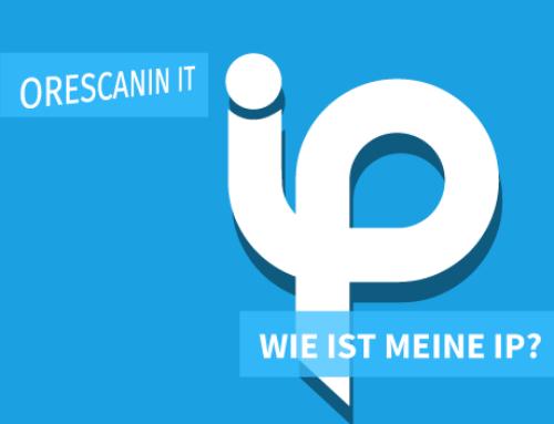 Wie ist meine IP