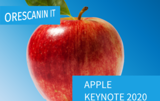 Apple Keynote 2020 - Orescanin IT