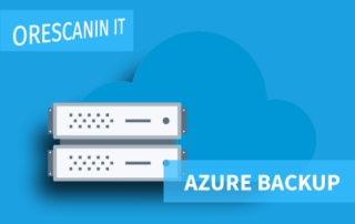 Azure Cloud Backup Orescanin IT