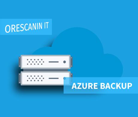 Azure Cloud Backup Orescanin IT
