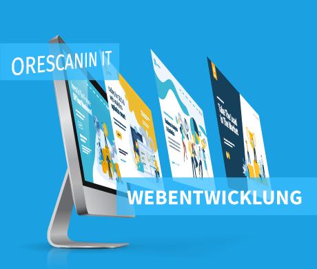 Webseiten Entwicklung Orescanin IT
