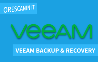 Veeam Backup & Recovery - Orescanin IT