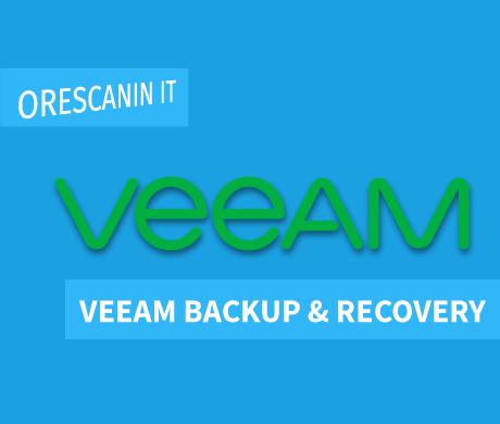 Veeam Backup & Recovery - Orescanin IT